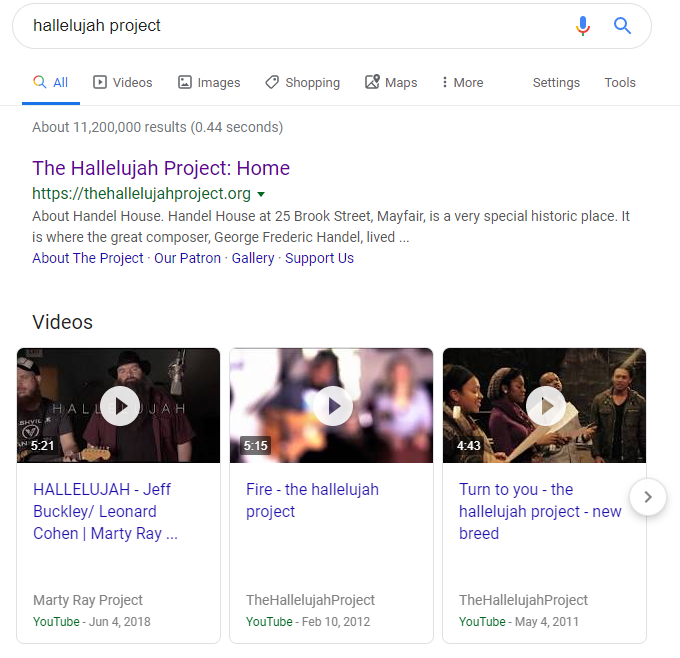 Halleluiah Project